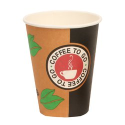 Hot Drink Cup 12oz (0,3l) Coffeetime 90mm