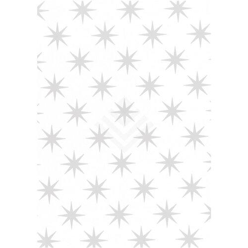 Geschenkpapier Weihnachten.Geschenkpapier Weihnachten 50cm Silver Stars