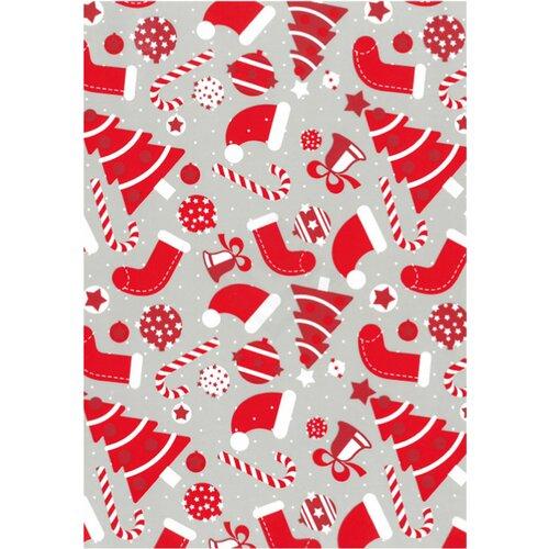 Geschenkpapier Weihnachten.Geschenkpapier Weihnachten Christmas Red 50cm X 250m